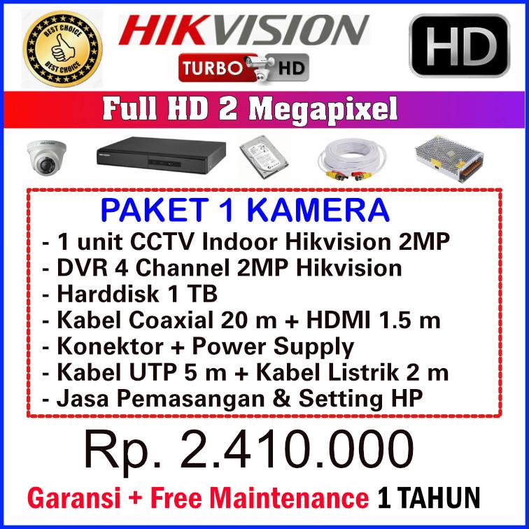 Pasang CCTV BSD Serpong merk Hikvision