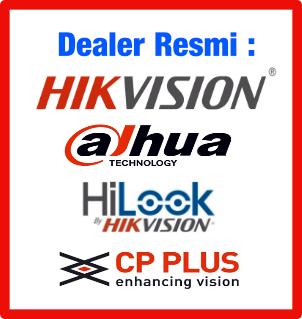 Paket CCTV Online Hikvision, Dahua, HiLook, CP Plus